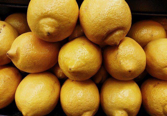 Lemons ready to be made into lemonade