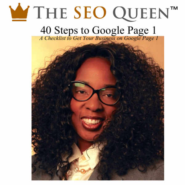 40 Steps to Google Page 1