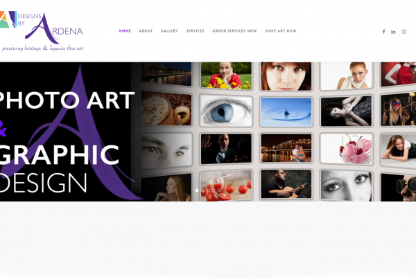 Designs by Ardena Home Page