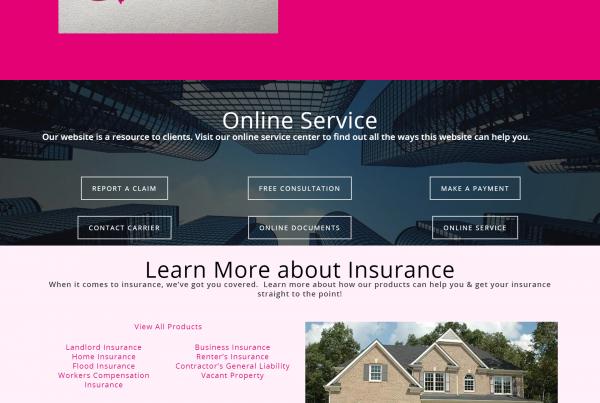 Quesurance Website